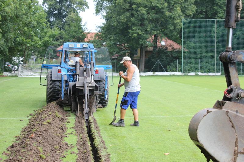 Trainingsplatz Im Großen Garten Wird Modernisiert