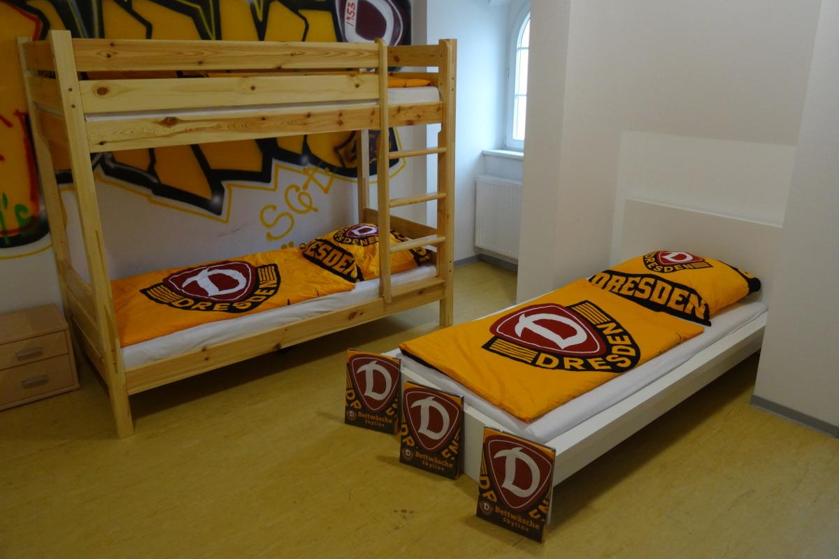 Neue Bettwäsche Für Dynamo Nachwuchs