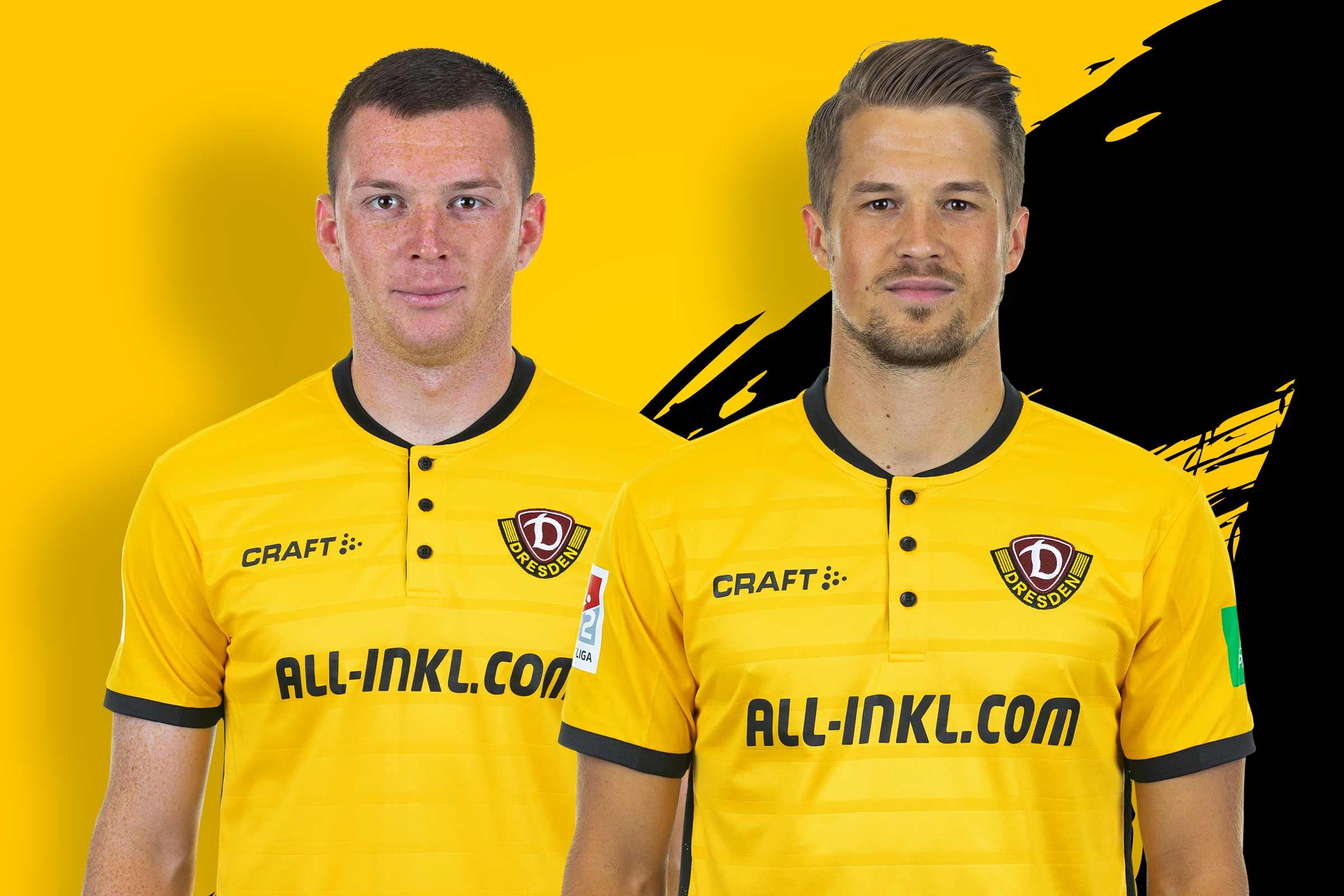 SG Dynamo Dresden Kinder-Shirt Retrotrikot gelb